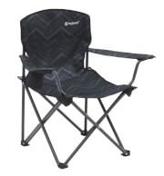 Krzesło kempingowe Woodland Hills Black Outwell