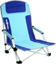 Krzesło plażowe Bula Blue Brunner niebieskie
