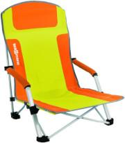Krzesło plażowe Bula Orange Brunner pomarańczowe