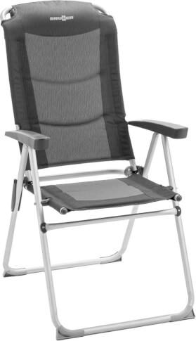 Krzesło składane Kerry Camper Shadow Black Brunner