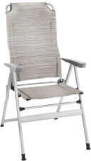 Krzesło turystyczne - Kerry Slim Beżowe Brunner