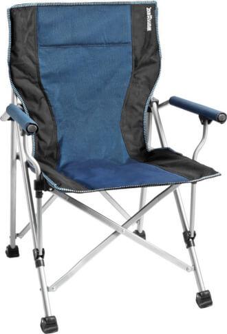 Krzesło turystyczne Brunner Raptor Blue niebieskie