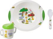 Zestaw obiadowy dla dzieci Kid Set Jungle Baby 6M+ Brunner