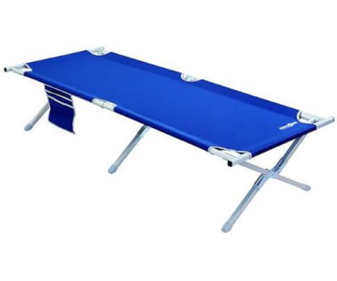Łóżko turystyczne polowe Outdoor Cot Brunner niebieskie