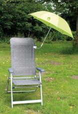 Parasolka przeciwsłoneczna do krzesła Chair Umbrella UPF 50+ Green Euro Trail
