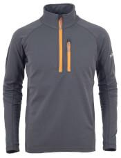 Polarowa bluza sportowa elastyczna Milo GEO grey szara