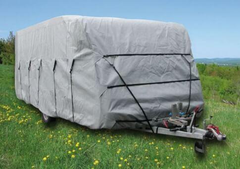 Uniwersalny pokrowiec na przyczepę kempingową 450-500 Caravan Cover Euro Trail