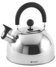 Turystyczny czajnik z gwizdkiem - Tea Break Kettle M Outwell Srebrny