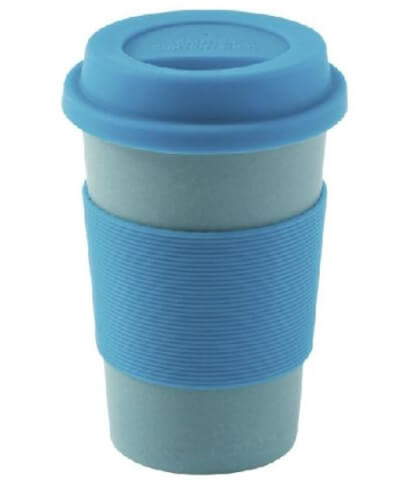Podróżniczy kubek z bambusa Bamboo Cup Blue Outwell