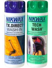 Zestaw pielęgnacyjny Nikwax Twin Tech Wash / TX.Direct Wash In 2x300ml