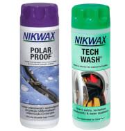 Zestaw pielęgnacyjny Nikwax Twin Tech Wash / Polar Proof V13.1 2x300ml