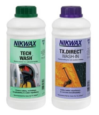 Zestaw pielęgnacyjny Nikwax Twin Tech Wash / TX.Direct Wash In 2x1L