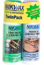 Zestaw Nikwax tkanina i skóra 125ml Atomizer + Żel czyszczący