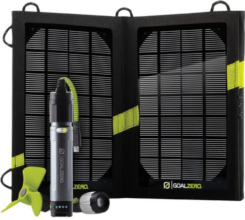 Turystyczny zestaw solarny Goal Zero Switch 10 + Nomad 7