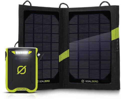 Turystyczny zestaw solarny Goal Zero Nomad 7 + Venture 30
