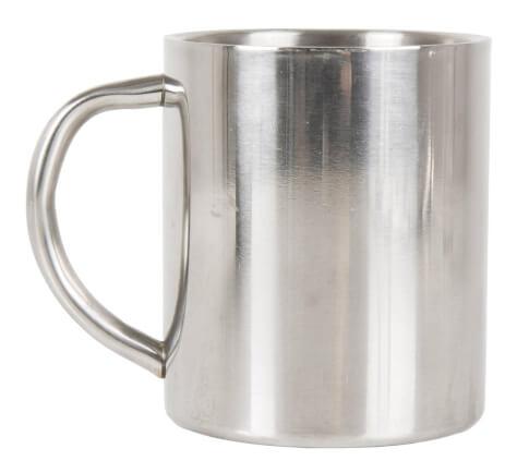 Kubek metalowy ze stali nierdzewnej Camping Mug Lifeventure