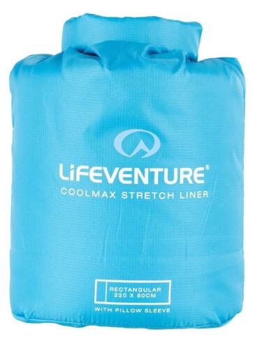 Wkładka do śpiwora turystycznego Coolmax Liner Lifeventure