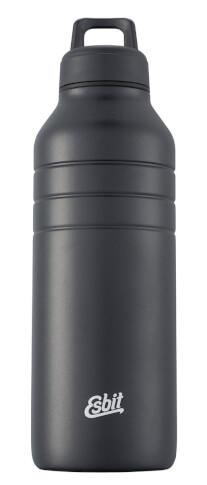 Wytrzymała butelka na wodę Majoris Drinking Bottle Esbit Black 1000 ml
