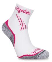 Uniwersalne skarpety do biegania Run Qw-ik Lady CoolFusion™ Bridgedale Dusky Pink