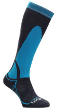 Uniwersalne skarpety narciarskie Vertige Mid MerinoFusion Bridgedale Gunmetal Blue