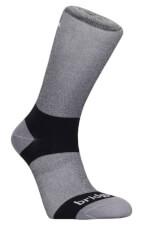 Skarpety Coolmax Liner Bridgedale z włóknami Endurofil™ 2 pary Grey