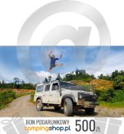 e-Bon podarunkowy dla turysty o wartości 500 zł do samodzielnego wydruku