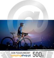 e-Bon podarunkowy dla rowerzysty o wartości 500 zł do samodzielnego wydruku