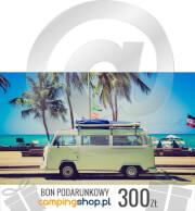 e-Bon podarunkowy dla turysty o wartości 300 zł do samodzielnego wydruku