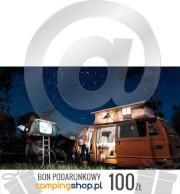 e-Bon podarunkowy dla turysty o wartości 100 zł do samodzielnego wydruku