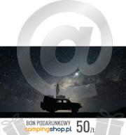 e-Bon podarunkowy dla turysty o wartości 50 zł do wydruku samodzielnego