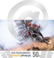 e-Bon podarunkowy dla rowerzysty o wartości 50 zł do wydruku samodzielnego