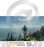 e-Bon podarunkowy dla podróżnika o wartości 50 zł do wydruku samodzielnego