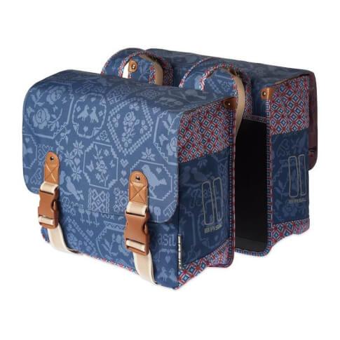 Torba rowerowa Double Bag Boheme 35 l Basil Indigo