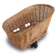 Wiklinowy koszyk rowerowy tylny dla zwierząt Pasja M Basil