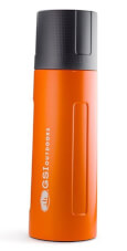 Termos podróżniczy Glacier Stainless 1 L Vacuum Bottle GSI outdoors pomarańczowy