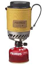 Lekki zestaw podróżny do gotowania Lite Plus Primus żółty