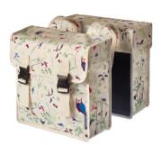 Podwójna torba rowerowa Double Bag Wanderlust, 35 l Basil Ivory