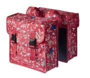 Podwójna torba rowerowa Double Bag Wanderlust, 35 l Basil Vintage Red