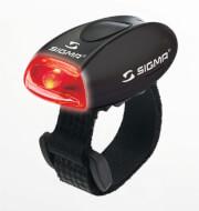 Uniwersalna lampka tylna Micro Sigma Czarna