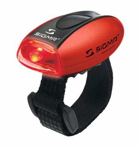 Uniwersalna lampka tylna Micro Sigma Czerwona