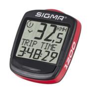 Funkcjonalny licznik rowerowy Base 1200 Sigma
