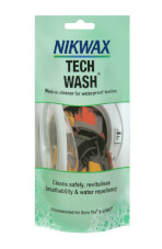 Impregnat Nikwax Tech Wash do prania materiałów wodoodpornych saszetka 100 ml