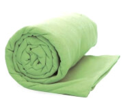 Lekki ręcznik szybkoschnący z pokrowcem M Rockland zielony