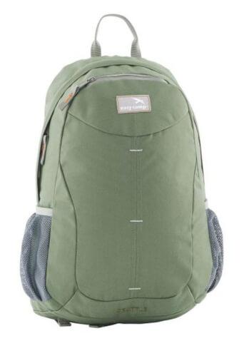 Kompaktowy plecak turystyczno-miejski Seattle Zielony Easy Camp