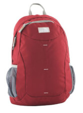 Kompaktowy plecak turystyczny miejski Seattle Czerwony Easy Camp