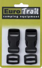 Praktyczne zapięcie, klamerka do plecaka Side Releade Buckle 20 mm Euro Trail