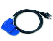 Przedłużacz, adapter turystyczny Adaptor SCHUKOCEE90 150 cm 2,5mm2 Brunner
