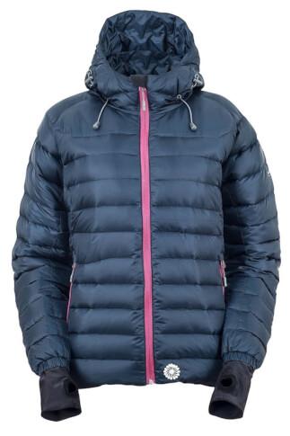 Techniczna kurtka zimowa damska MANALI LADY abyss blue Milo