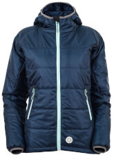 Damska kurtka techniczna na zimę BOMO LADY Milo abyss blue