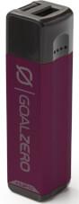 Lekki i poręczny Power Bank z USB 2600 mAh FLIP 10 Goal Zero fioletowy